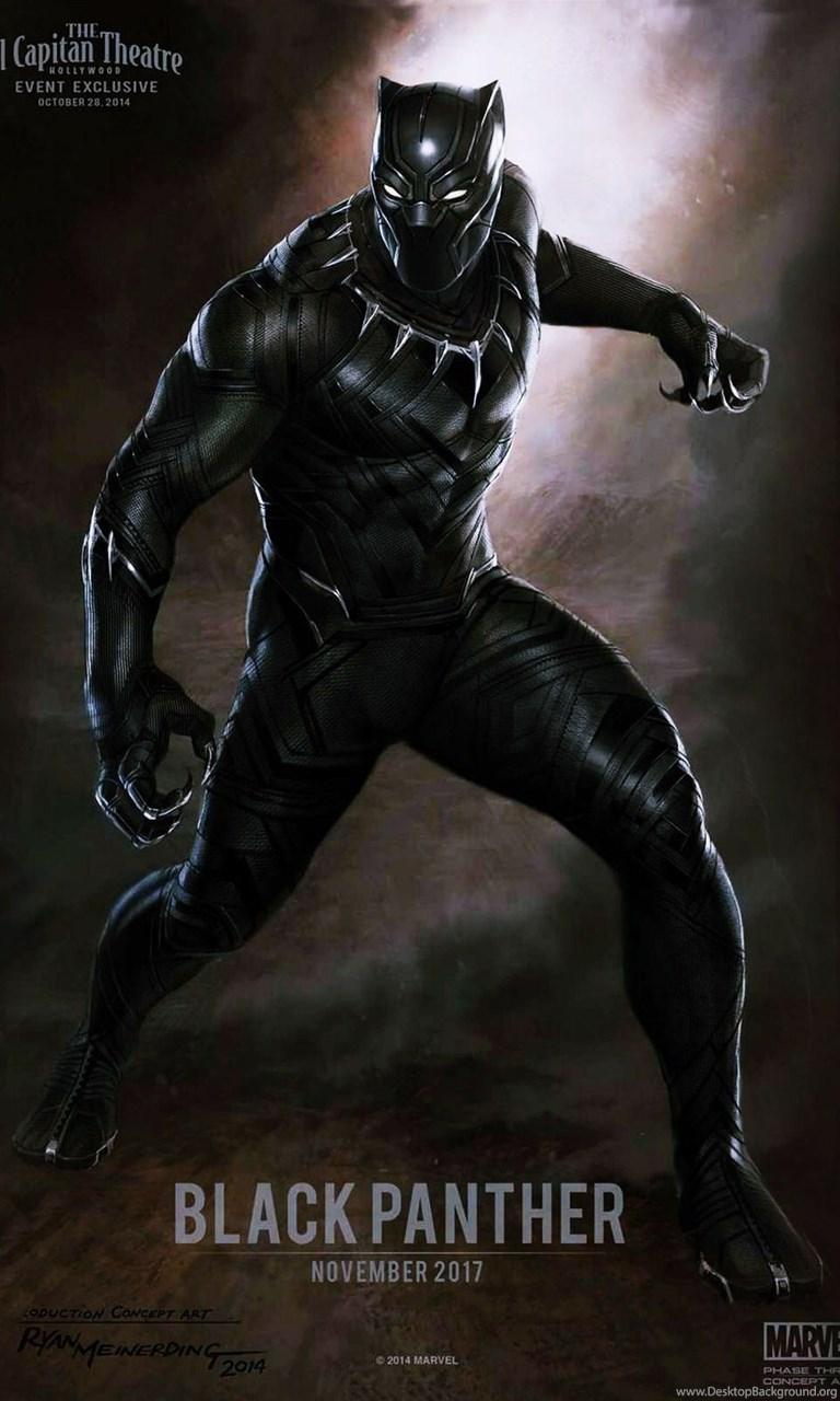 Marvel Black Panther Wallpapers Wallpapers Zone Desktop Background