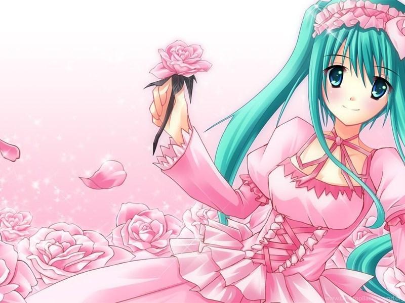 Cute Anime Girl Computer Wallpapers Desktop Backgrounds Desktop Background