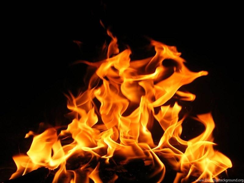 yellow orange fire flame desktop background
