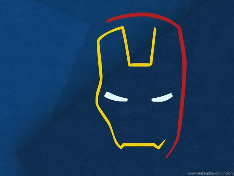 Minimalist Iron Man Wallpapers Desktop Background