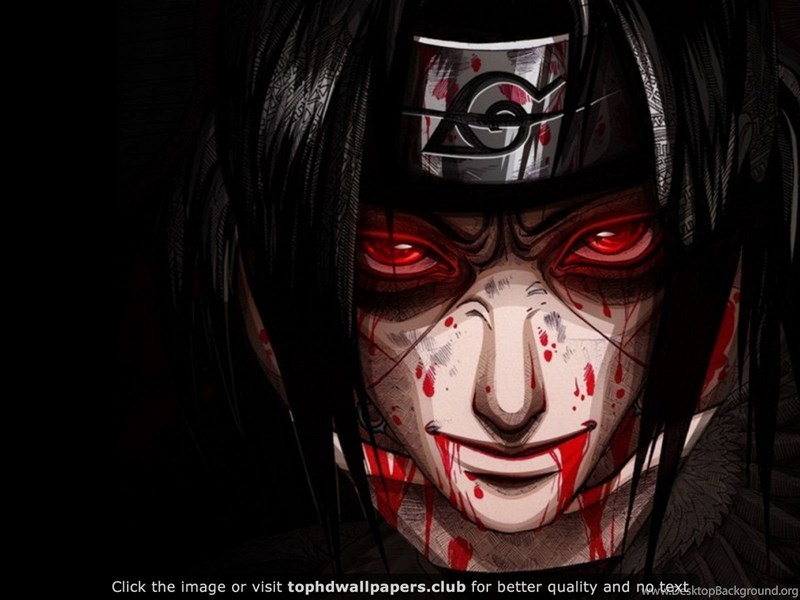 Itachi Uchiha Sharingan 4K Or HD Wallpapers For Your PC ...