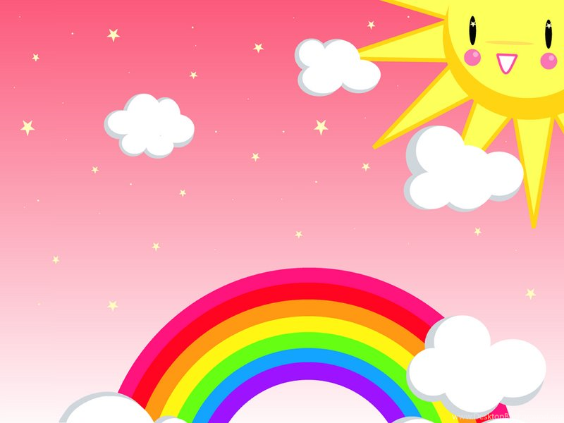 Rainbow Backgrounds Cute Rainbow Backgrounds Hd Rainbow ...