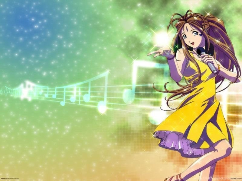 Wallpapers Powerpoint Presentation Templates Cute Anime Musician