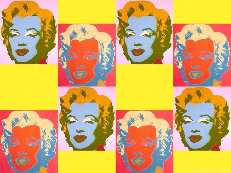 Andy Warhol Marilyn Monroe Pop Art Wallpapers ( Desktop Background