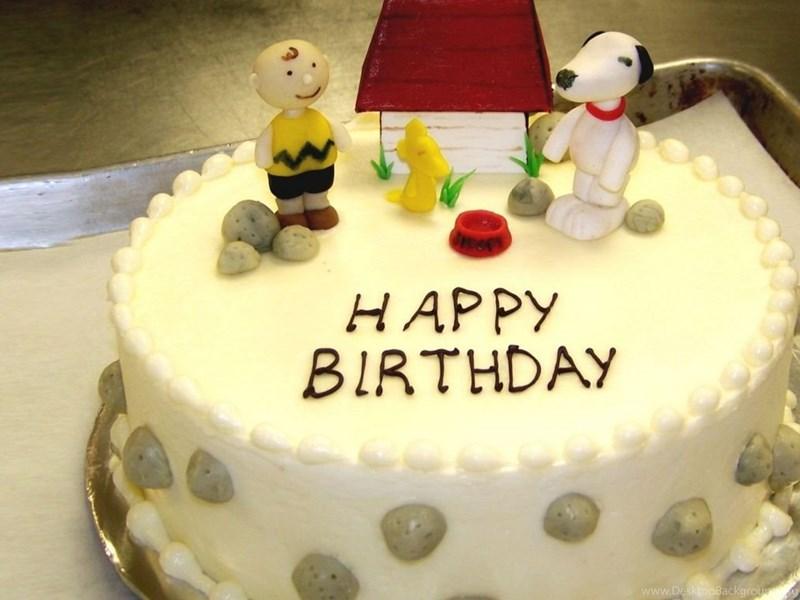Happy Birthday Cake Hd Desktop Wallpaper Backgrounds Download