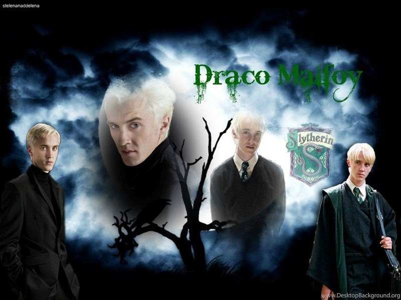 Draco Malfoy Wallpapers By Draco Malfoy Fans On Deviantart Desktop Background