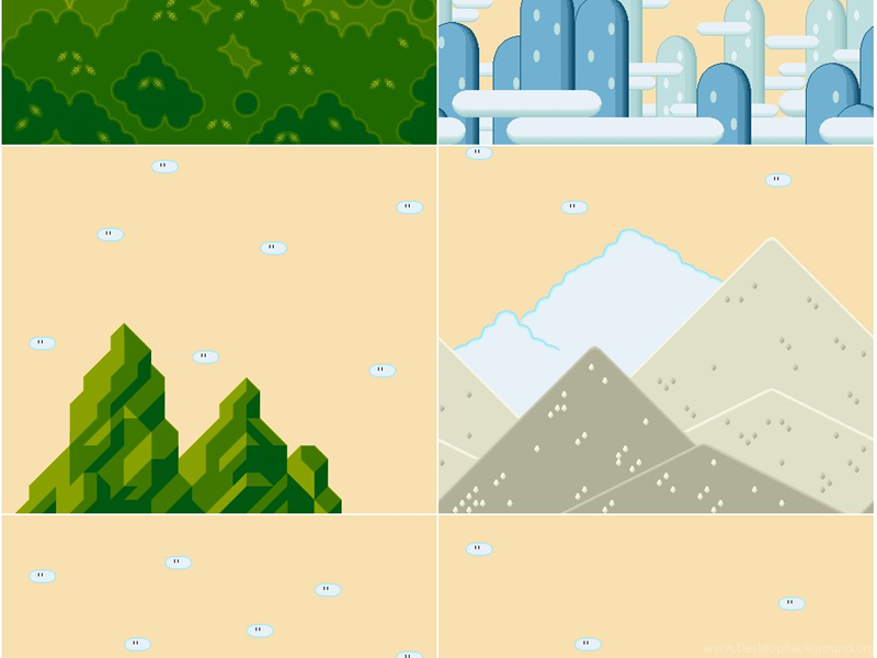 SNES Super Mario World Backgrounds The Spriters Resource