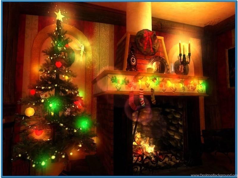 3d christmas screensavers with music 3 jpg Desktop Background