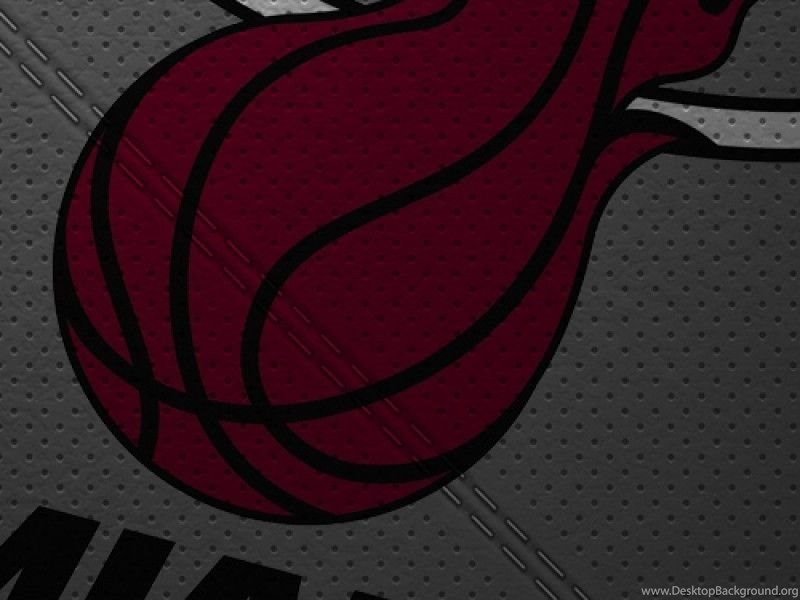 Miami Heat Logo Iphone 5 Wallpapers Desktop Background