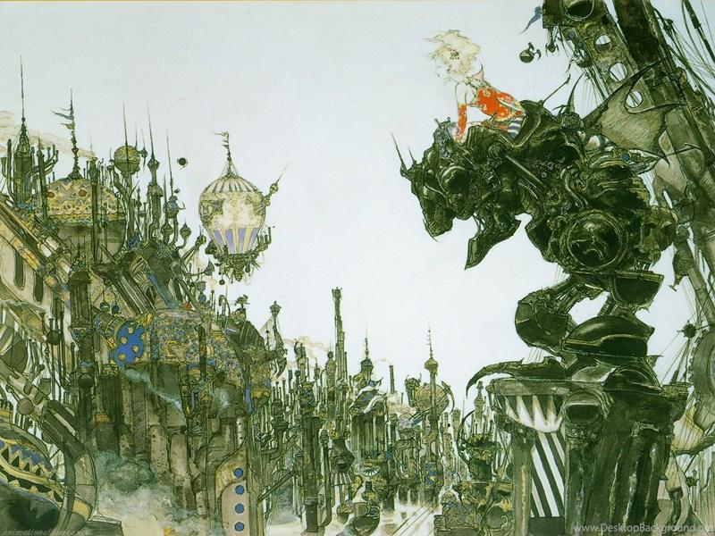 Final Fantasy Final Fantasy Vi Terra Ff6 Wallpapers Desktop Background