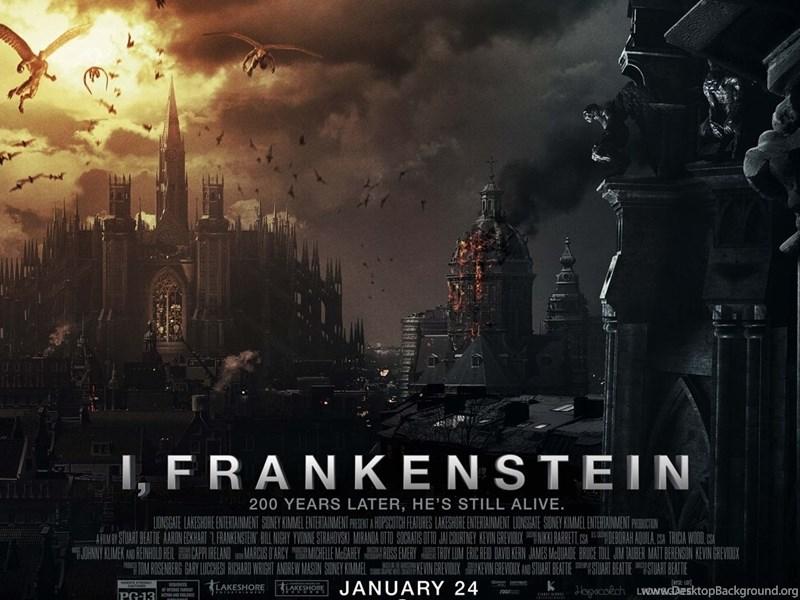 i frankenstein 2014 poster movie wallpaper hd backgrounds jpg