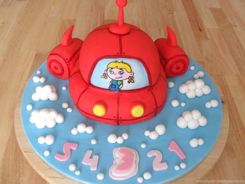 Little Einsteins Rocket Cake By Rebeccarosebrine On Deviantart
