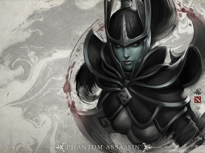 Dota 2, Loading Screen, Phantom Assassin Wallpapers HD Desktop