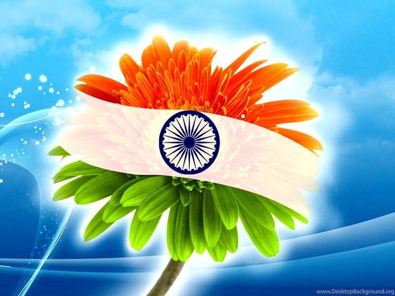 Flower With Indian Flag Hd: Indian Flag Hd Wallpapers Desktop Background