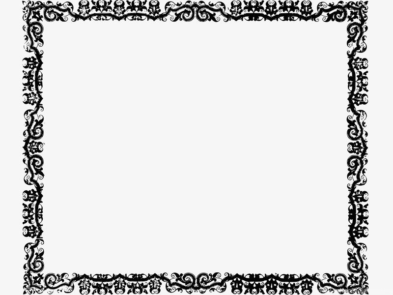 Border And Frame PPT Backgrounds Templates Download Free Border ...