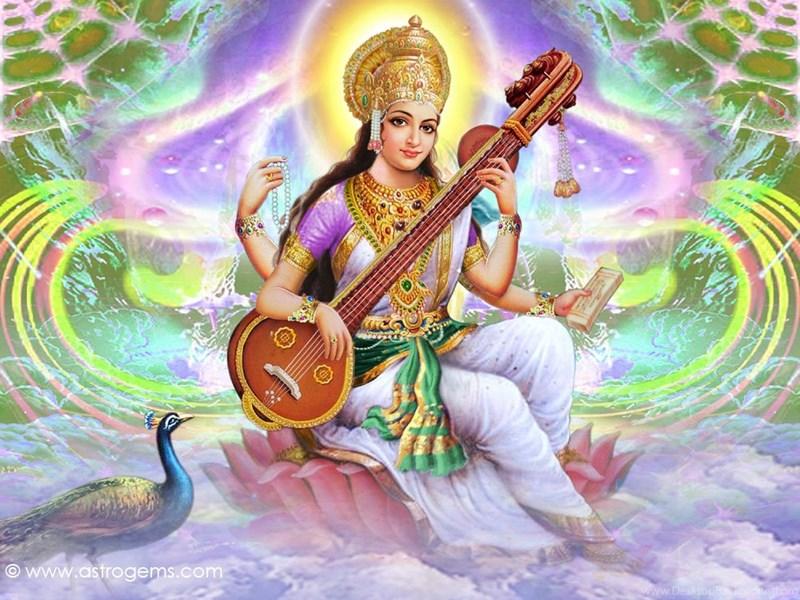 free saraswati wallpapers desktop background