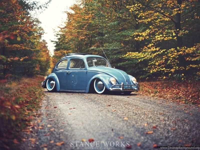 Classic Car Volkswagen Beetle Wallpapers Desktop Desktop Background