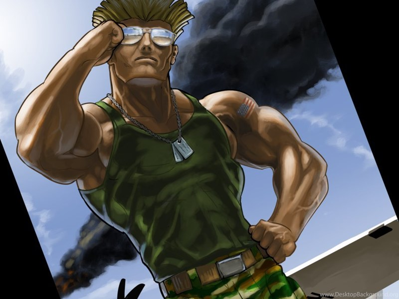 Street Fighter Characters Guile By Enriquenl On Deviantart