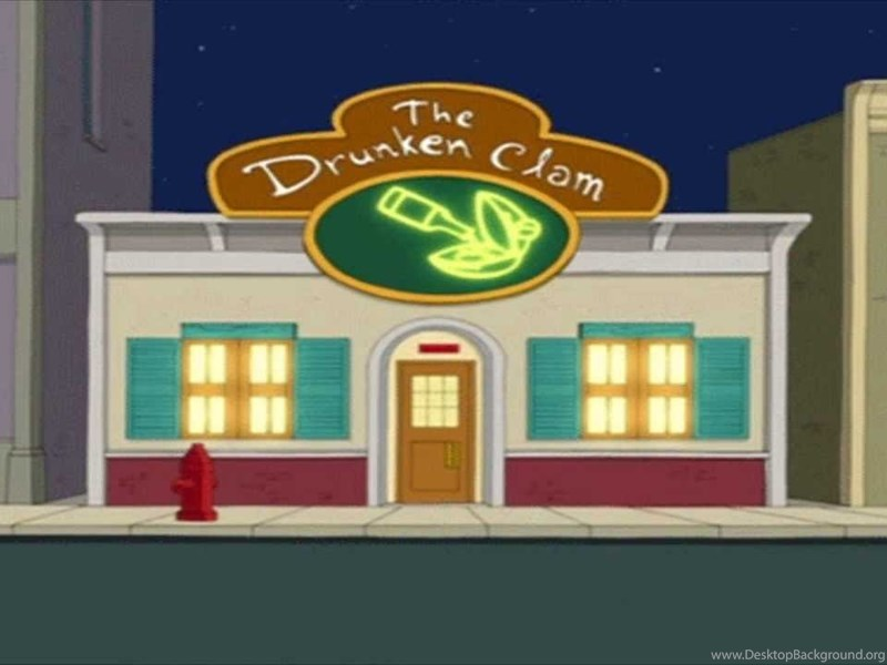 the drunken clam backgrounds family guy youtube desktop