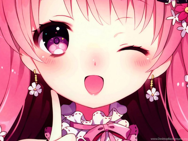 Anime Cute Girl Iphone 6 Wallpapers Download Desktop Background
