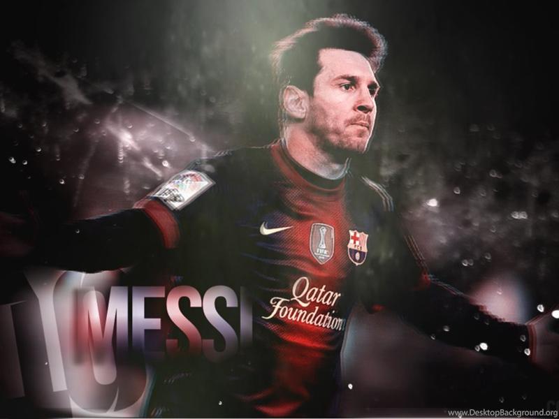 Lionel Messi Wallpapers FCBarcelona By CCFGFX On DeviantArt Desktop