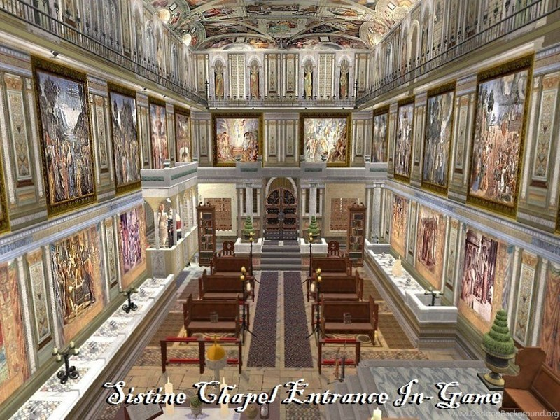 Mod The Sims The UCS Part 7: THE SISTINE CHAPEL Community