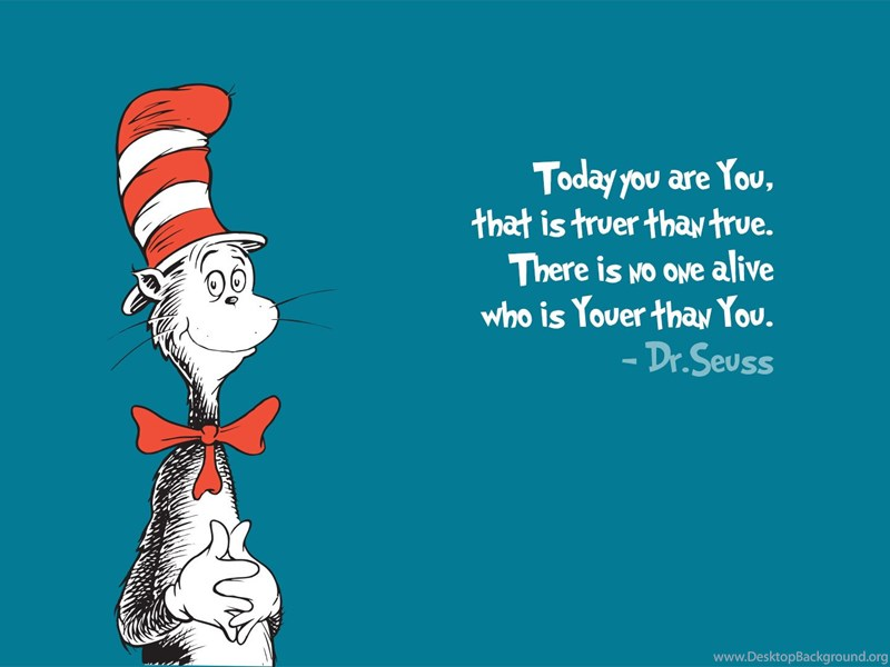 High Resolution Cartoon Dr Seuss Quotes Wallpapers Hd 1 Full Size Desktop Background