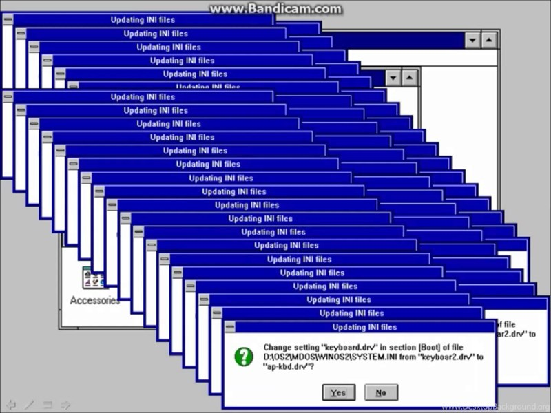 Windows 3 1 Crazy Error YouTube Desktop Background