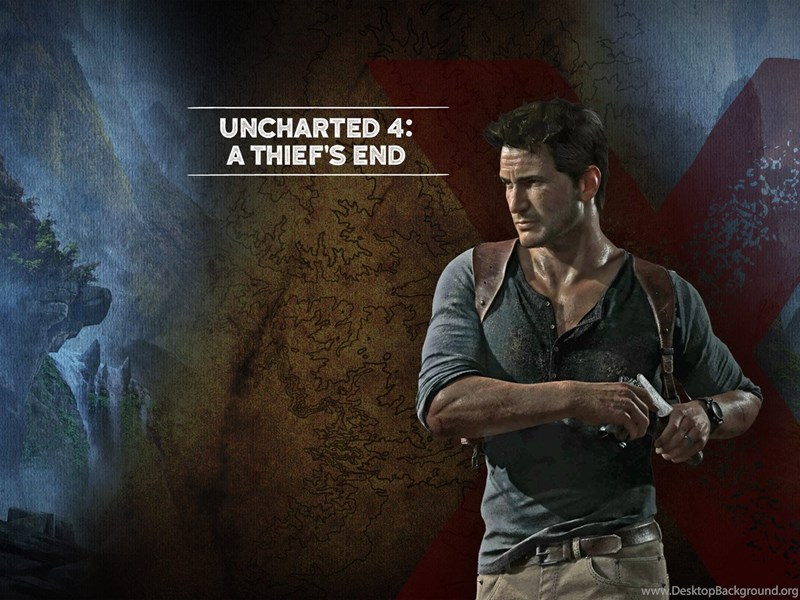 Nathan Drake Wallpapers Uncharted 4 A Thiefs E 1444 Desktop