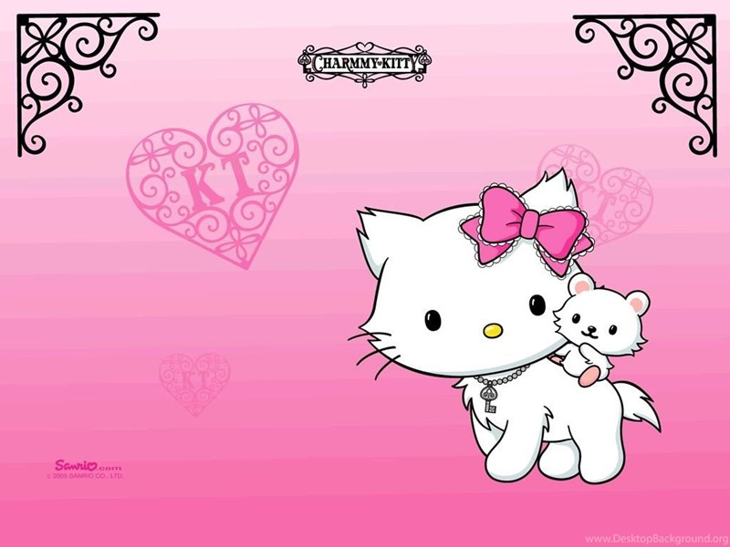 Hello Kitty Backgrounds For Laptops Wallpapers Cave Desktop Background