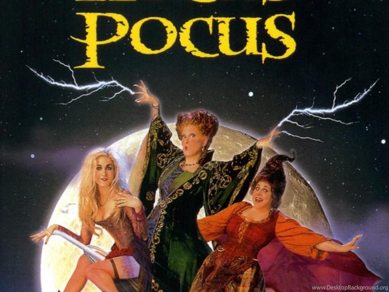 Forgotten Childhood Hocus Pocus Desktop Background