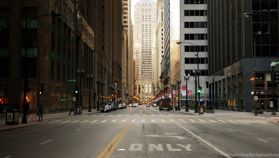 High Resolution Chicago City Street Wallpapers SiWallpaperHD 20552
