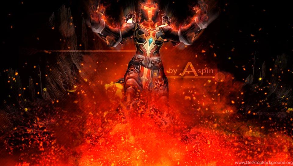 Wow Wallpapers Orc Shaman By Aspinlul On Deviantart Desktop