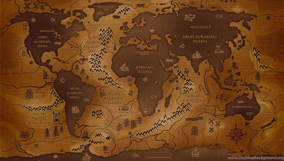 Download free antique style world map computer pictures wallpapers hd 480x800 gumiabroncs Choice Image