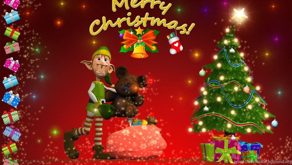 Merry Christmas Wallpapers Hd For Desktop Desktop Background
