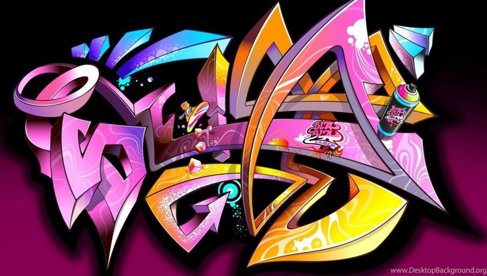 3d Graffiti Wallpaper Hd 4 1024 768 Desktop Background Android