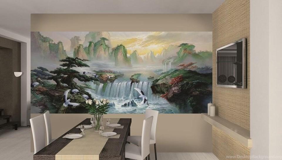 Asian Wall Mural Ideas Wwwazbuz Desktop Background