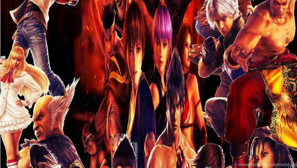 Dead Or Alive Tekken Virtua Fighter Wallpapers By Hatredboy