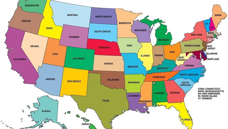 Sport Wallpaper U S States: 16 United States Of America Map HD Wallpapers Desktop