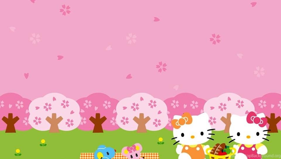 Hello Kitty Summer Wallpaper 36 55250 Desktop Wallpapers Desktop