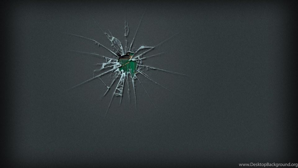 Cracked Iphone Screen Wallpapers Realistic Desktop Background