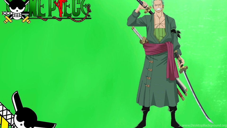 Two Years Ago Roronoa Zoro One Piece Wallpapers Desktop Background