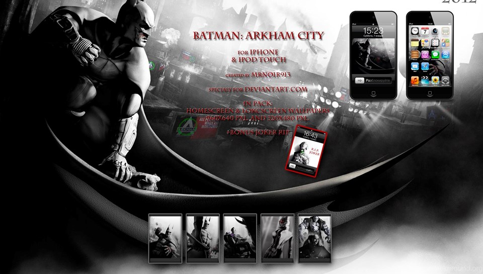 Batman Arkham City Wallpapers By Mrnoir913 On Deviantart Desktop