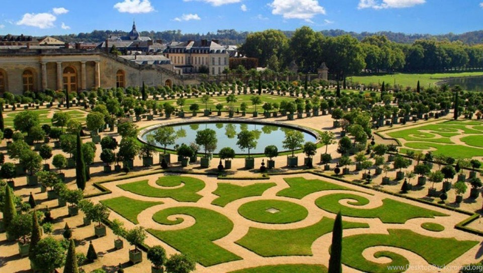 Palace Of Versailles Hd Wallpaper Images Gardens Of France Page Desktop Background