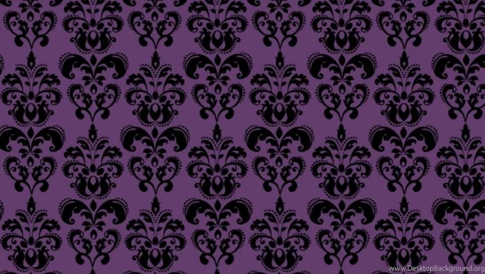 Damask Purple Wallpapers Desktop Background