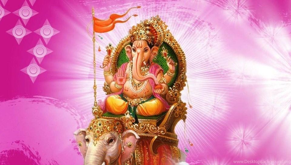 3d shree ganesh chaturthi hd wallpapers free desktop background - Sri ganesh wallpaper hd ...