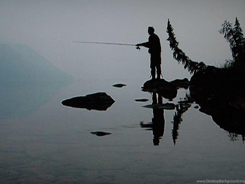 Morning Fishing Wallpapers Hd Wallpapers Desktop Background