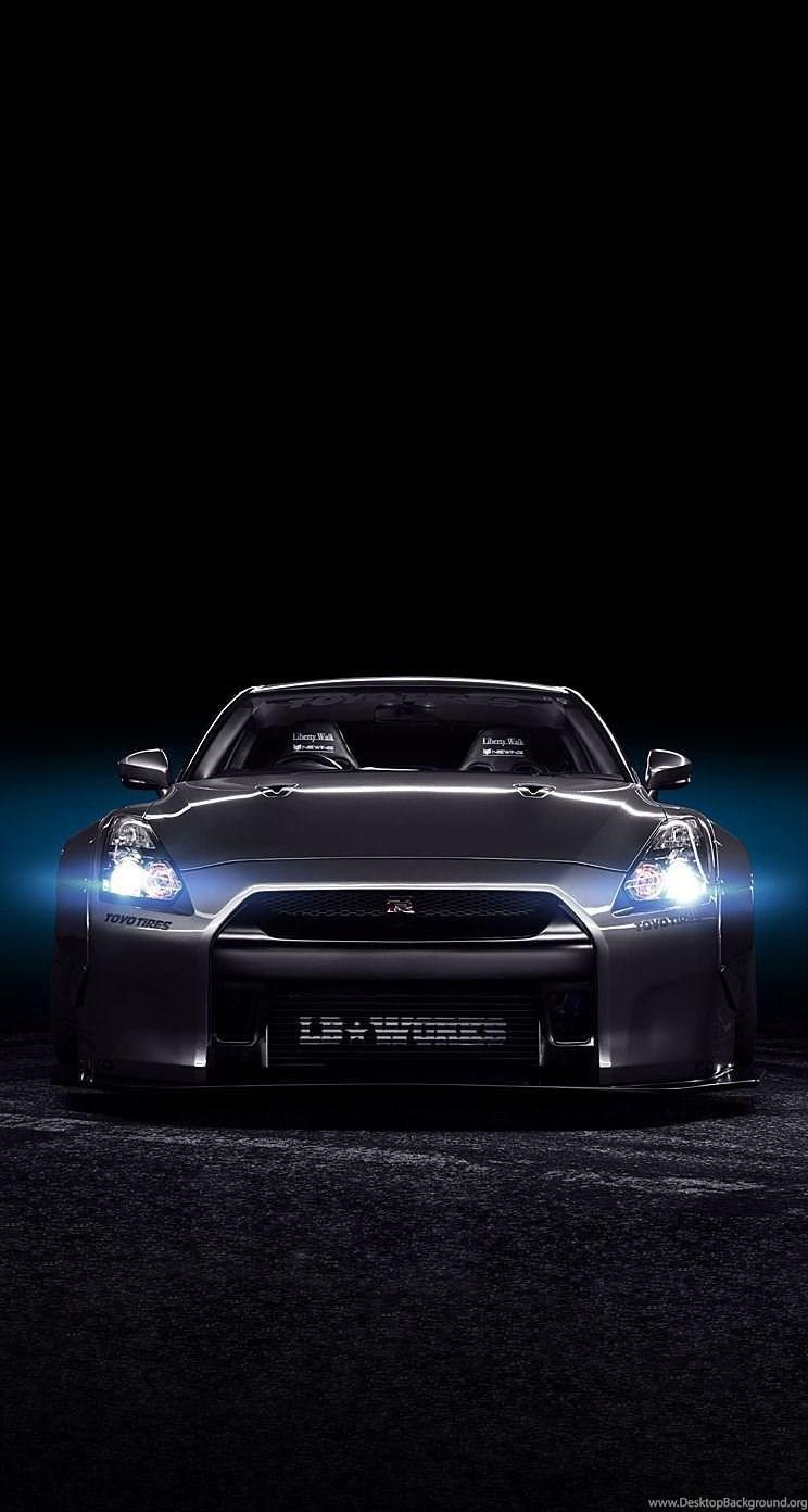 Black Nissan Gtr Wallpapers Image Desktop Background