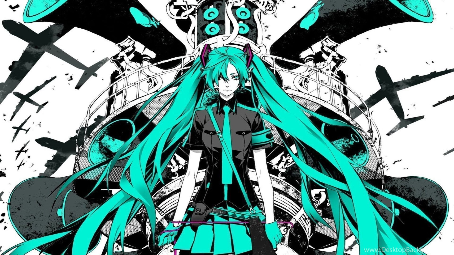 Cute Hatsune Miku Wallpapers Wallpaper Desktop Background