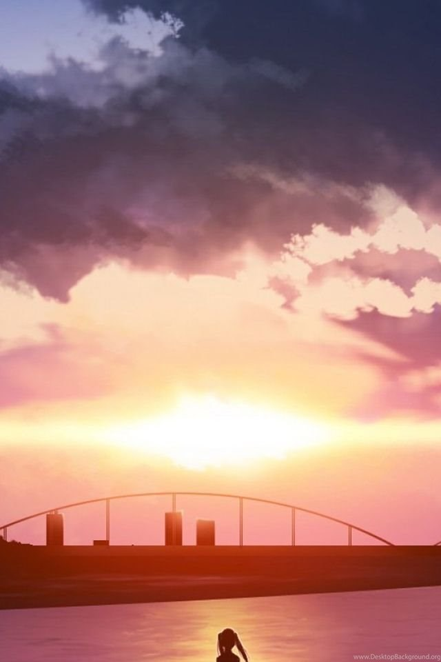 Anime Scenery IPhone Wallpapers Free For 6s Desktop Background